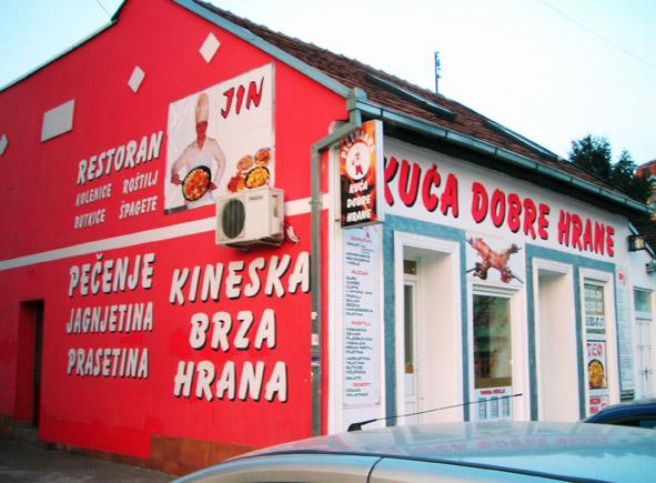 Natpisi na fasadi, fasadnim bojama